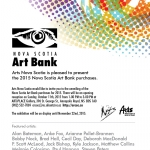 Nova Scotia Art Bank invation